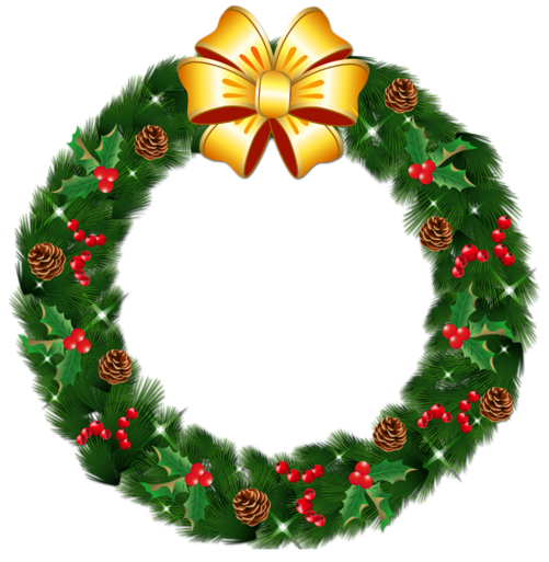 http://gallery.yopriceville.com/var/resizes/Free-Clipart-Pictures/Christmas-PNG/Transparent_Christmas_Pine_Wreath_with_Gold_Bow_PNG_Clipart.png?m=1419240543