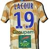 Guillaume LACOUR : Maillot porté STRASBOURG le 23.10.2009