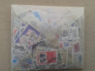 pochette de 400 timbres 1974 - 1987