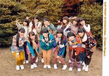 Erina Ikuta  Riho Sayashi Ayumi ishida Masaki Sato Airi Suzuki Kanon Fukuda Aika Mitsui Saki Shimizu  Maimi Yajima  SATOYAMA movement Hello!Project ハロー!プロジェクト