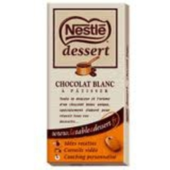 chocolat blanc neslé