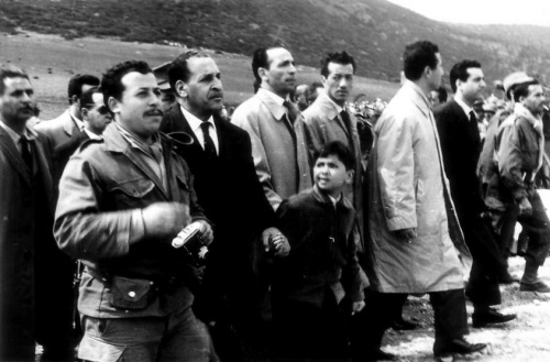Abbas, Boudiaf, Bitat, Ait Ahmed, 1962