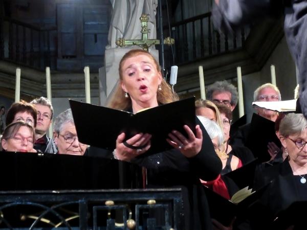 Le  concert du Chœur de Haute Côte d'Or a eu un très grand succès....