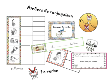 ateliers conjugaison : le verbe