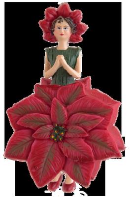 tubes : Personnages/fleurs de Noël