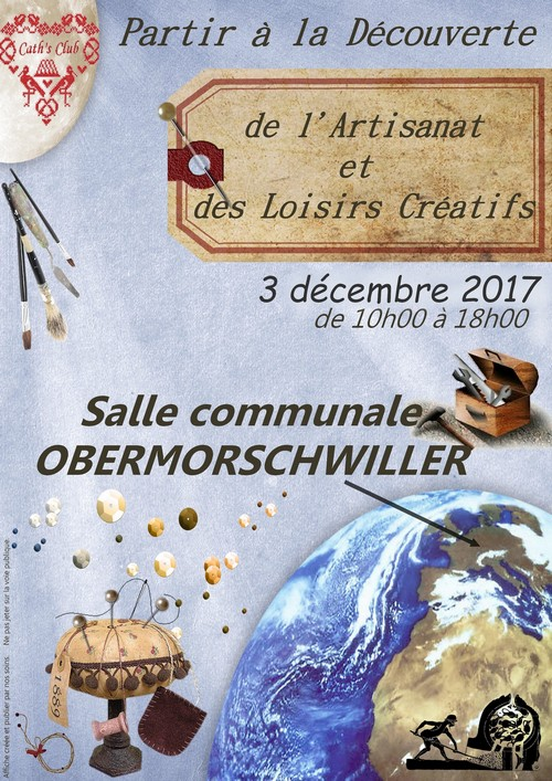 Salon d'Artisans à  Obermorschwiller le dimanche 3 décembre de 10h00 à 18h00
