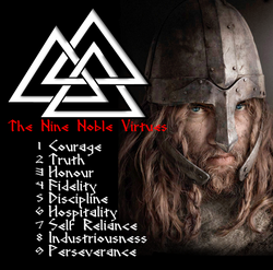 Les neuf nobles vertus des Vikings