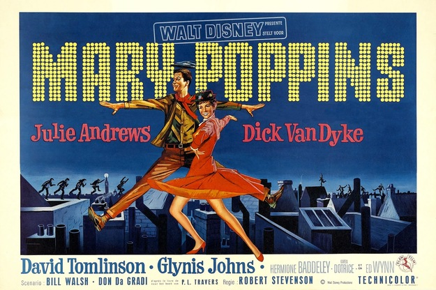MARY POPPINS - JULIE ANDREWS BOX OFFICE 1965
