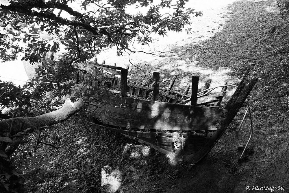 Bretagne - 6 août - Les squelettes de Pont Aven...