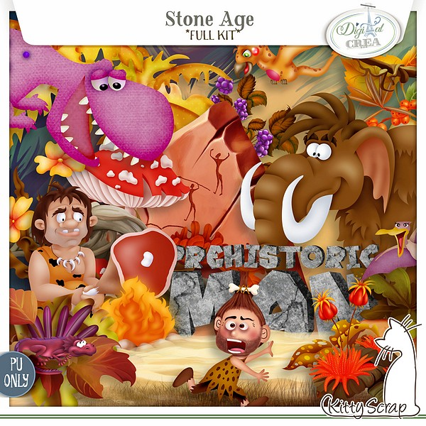 kit stone age de kittyscrap