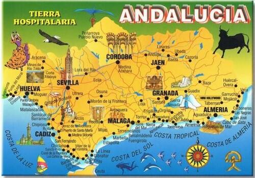 * L'ESPAGNE (Andalousie - Gibraltar - Tanger) mes 24 séjours
