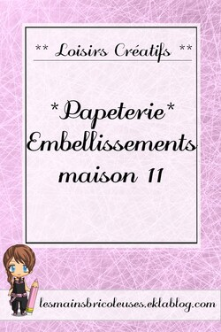 *Papeterie*  Embellissements maison 11