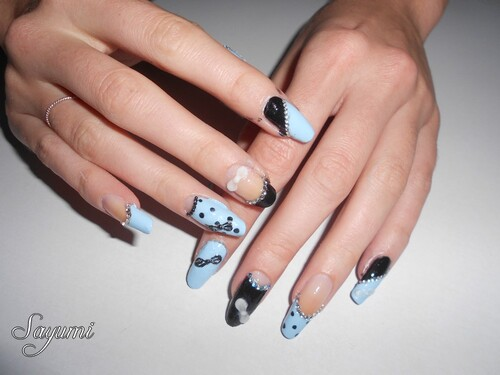 Nail Art 3D Japanese Inspiration