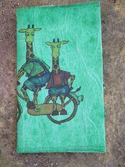 cahier girafes