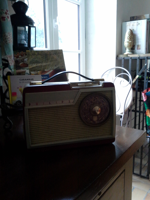 radio vintage philips 1954