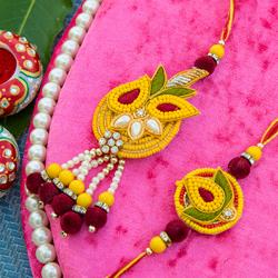 Send Beautiful Rakhi Abroad With Aarav Rakhis