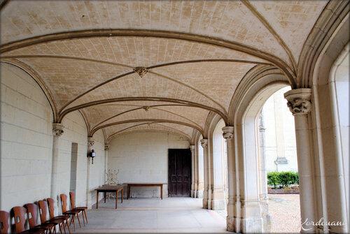 Photos de la galerie couverte -  Château de Brézé