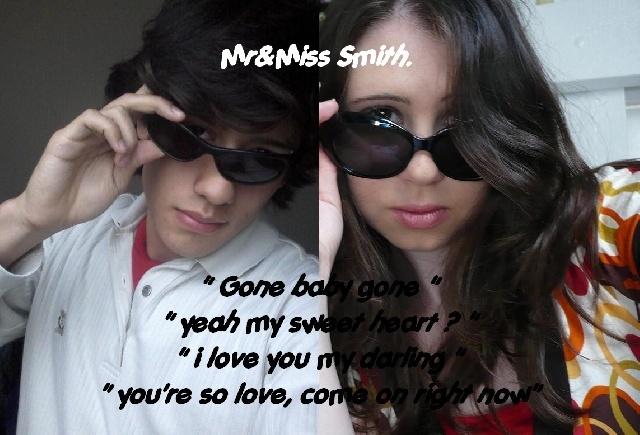 Mr&Miss Smith.