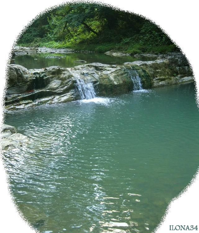 Tube cascade et rivière