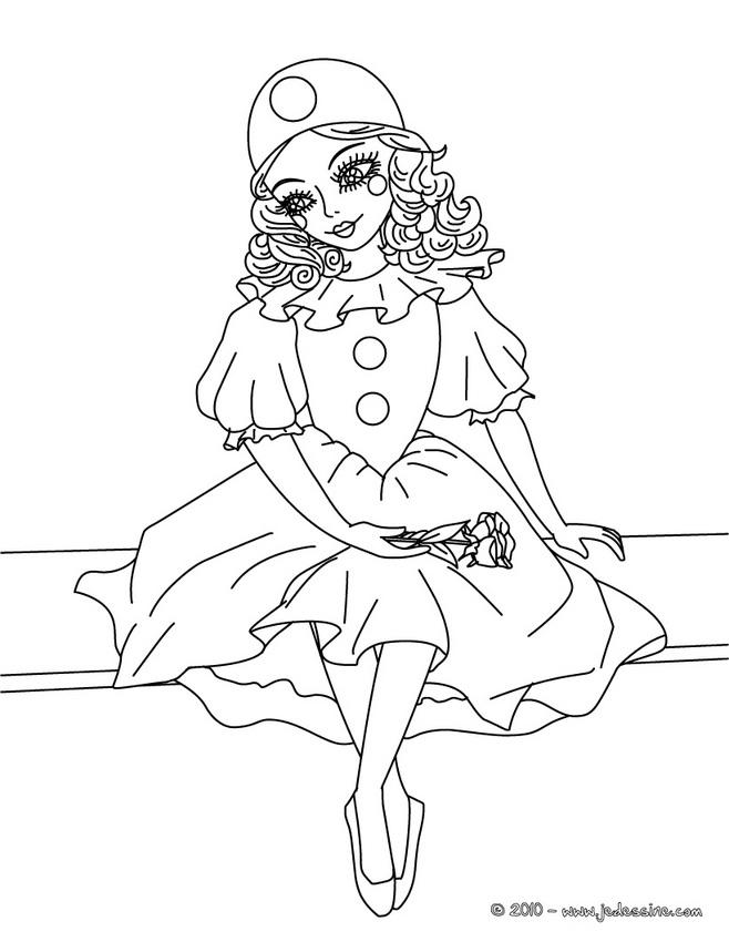 histoires d\'Arlequin, de Pierrot, de Colombine et Polichinelle - la ...