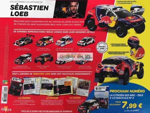 N° 1 Les Véhicules de Sébastien Loeb - Test