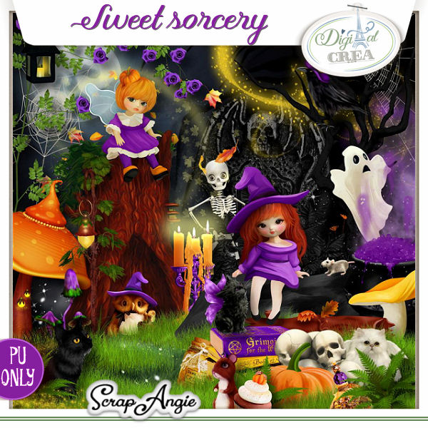 Sweet Sorcery by Scrap'Angie