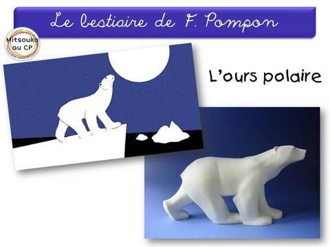 L'ours & la lune, une rencontre inspirée par F. Pompon