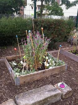 Notre jardin 2015, pour la fête de l'ecole