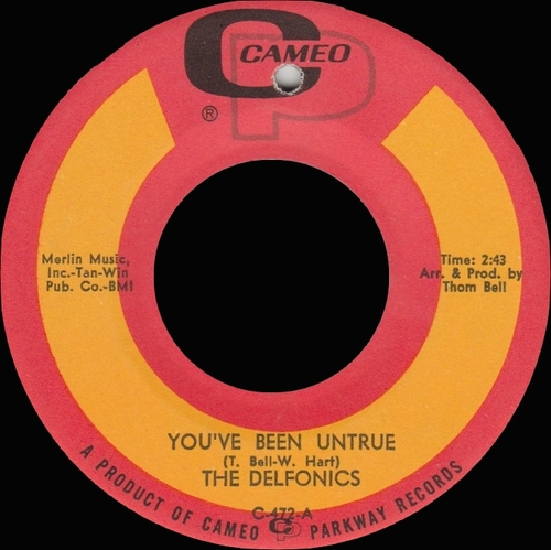 "The Delfonics : Album "" La La Means I Love You "" Philly Groove Records, Inc. PG-1150 [ US ]"