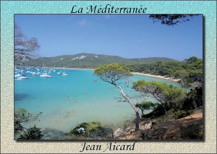 """"""" La Méditerranée """" poème de Jean Aicard"""