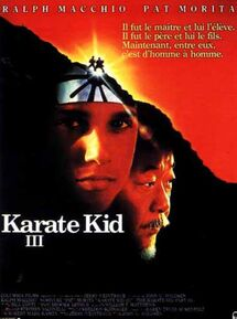 KARATE KID 3 BOX OFFICE FRANCE 1989