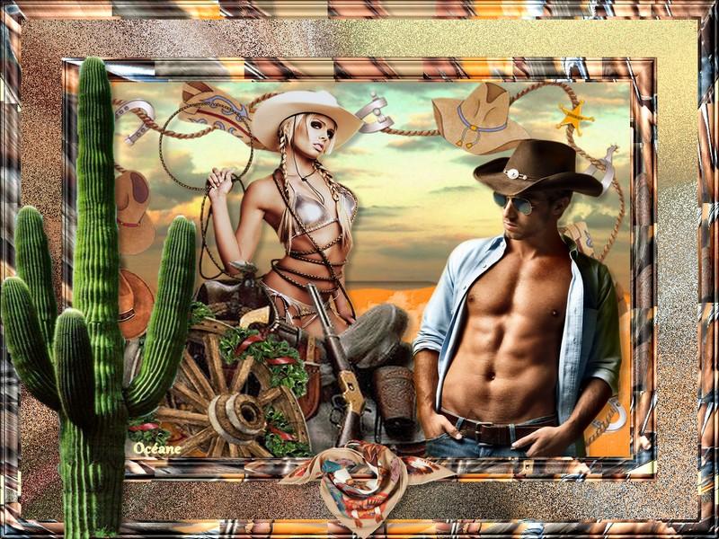 défi western en png