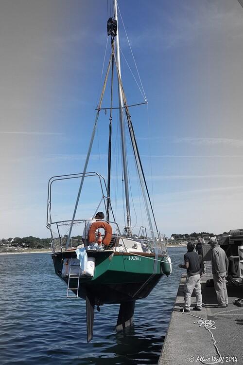 Bretagne - 6 Août - Clohars-Carnoët et ses  bateaux