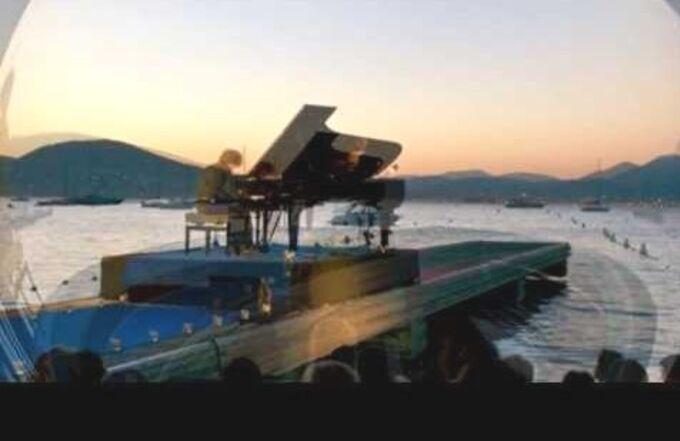Le piano de la plage.