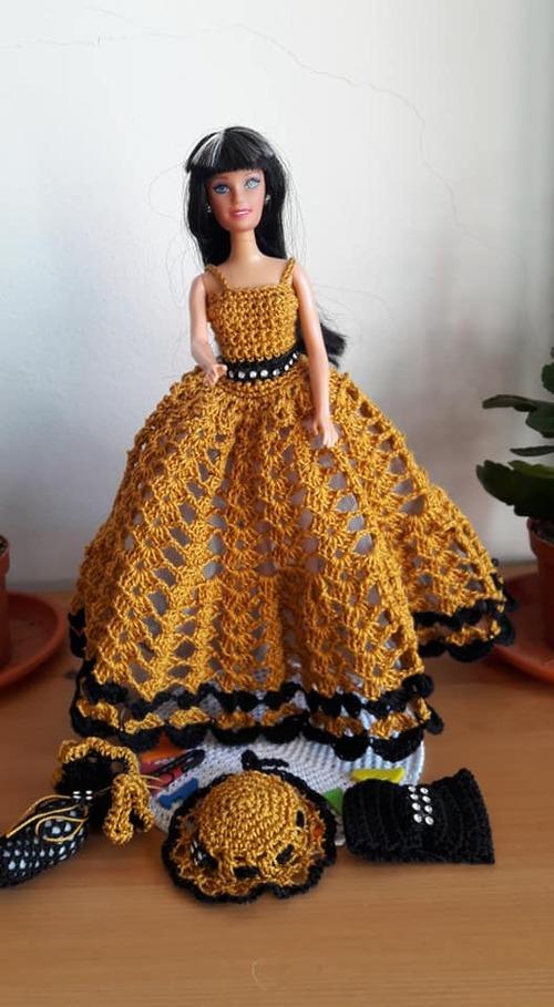 Nouveau modèle de robe barbie