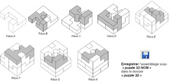 Puzzle assemblage SW