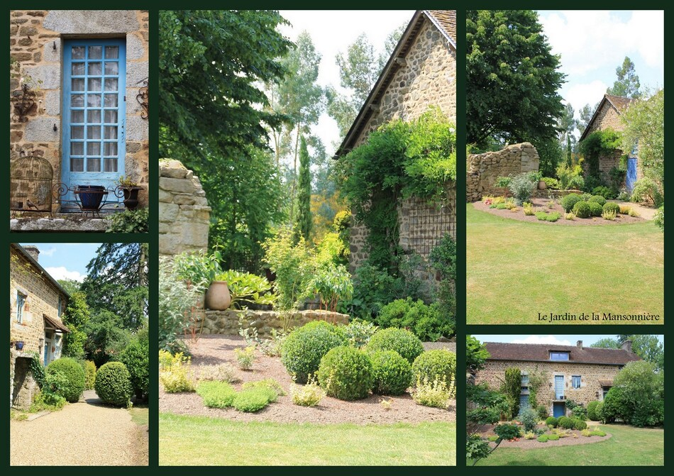 Le jardin de la Mansonnière