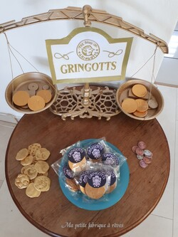 Anniversaire Harry Potter gringotts