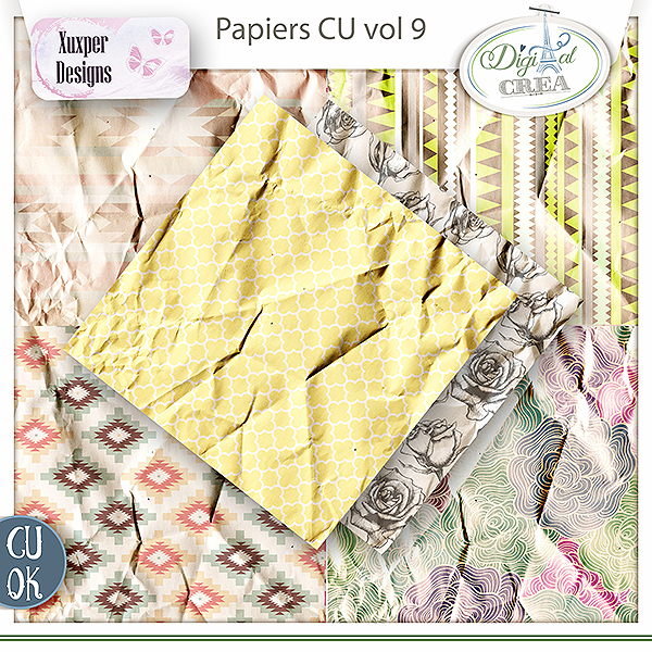 Pack papiers Cu vol9 de Xuxper Designs