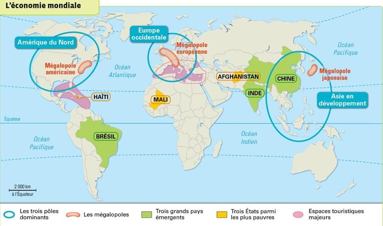 Les 3 mégalopoles mondiales