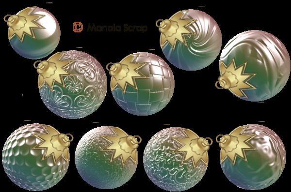 Boules de Noël page 8