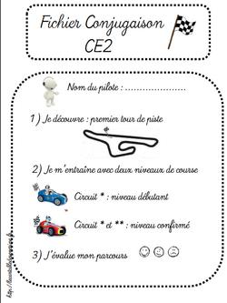 Pages de garde fichiers français CE2 2014/2015