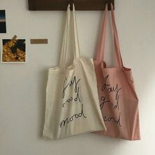 Old school by Wayne | Beige aesthetic, Tote bag design, Eco bag