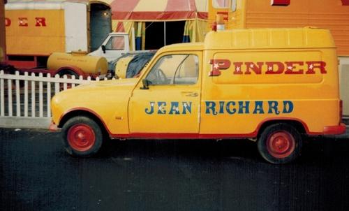 Pinder Jean Richard à Toulouse -2ieme partie ( archives Raymond Marti)
