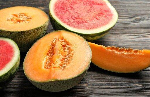 bonnes combinaisons d'aliments : ne pas allier pastèque et melon