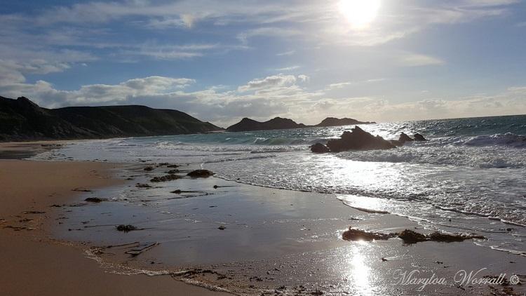 Bretagne : Erquy, Plage du Portuais