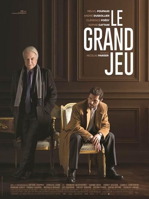 Bande-annonce pour Le Grand Jeu avec André Dussolier. Le 16 décembre 2015 au cinéma !