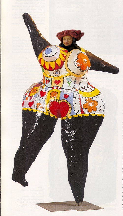 Niki de Saint Phalle/Art contemporain/sculptures/Nanas,