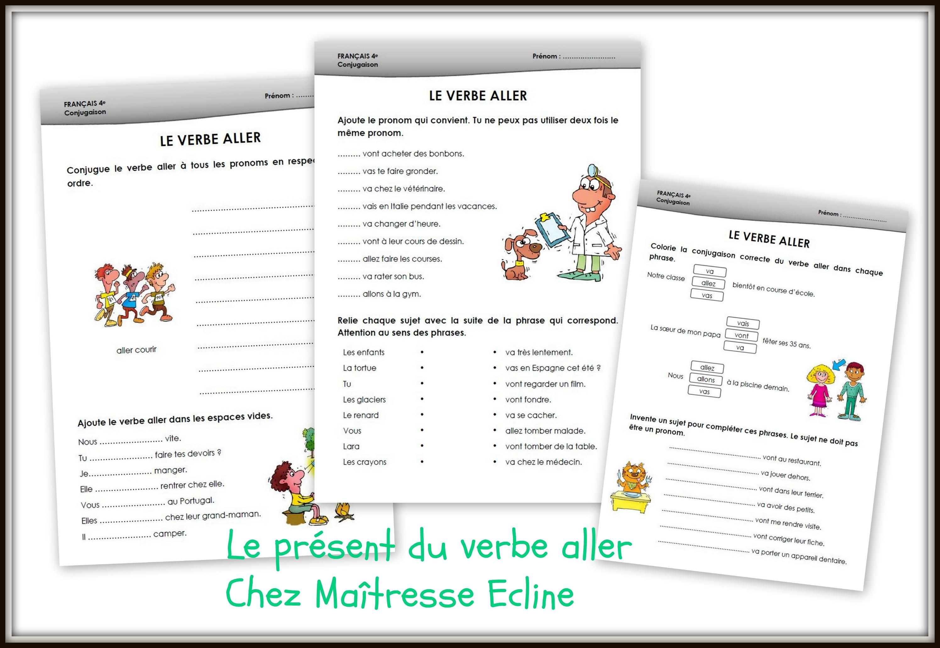 ad517fd31 Français 4e Harmos (CE1) - Chez maîtresse Ecline