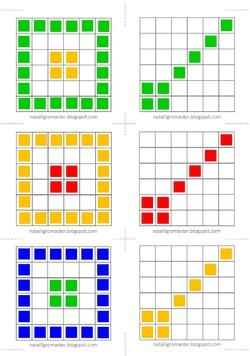 fiches pour cubes encastrables